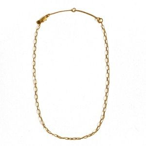 NWOT Madewell Chain Link Necklace (Rare Style)